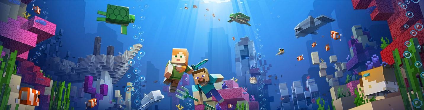 En Resa In I Minecrafts Kreativa Värld